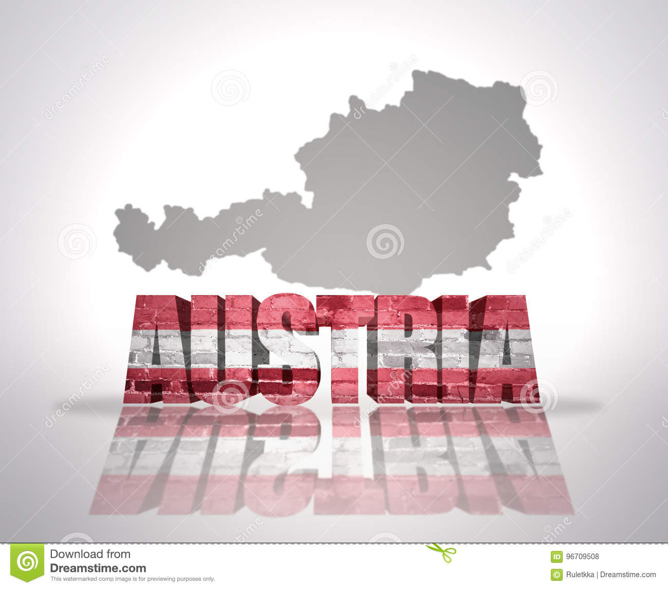Word austria stock photo image of country title ensign 96709508 download comp gumiabroncs Image collections