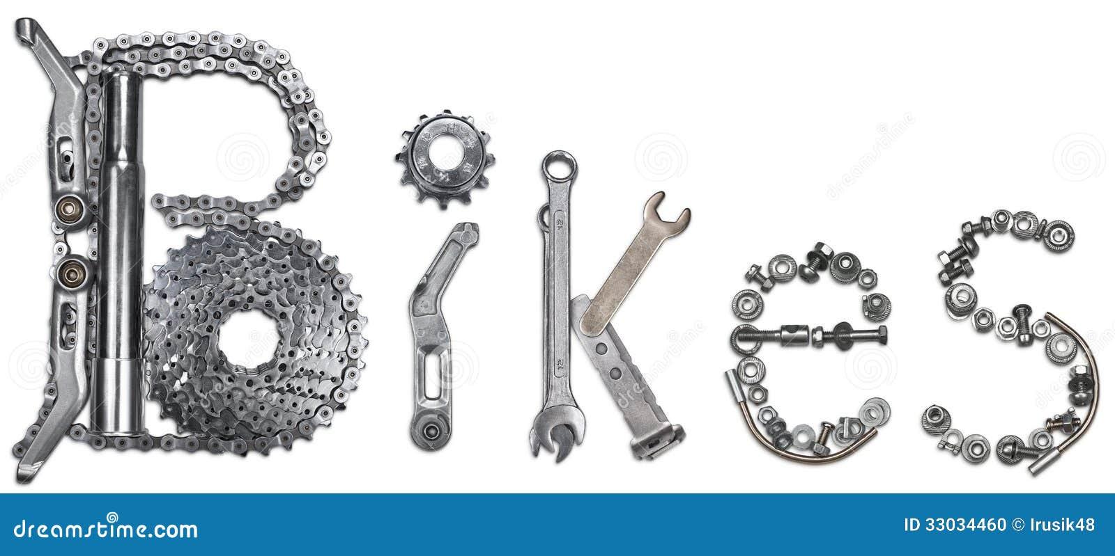 Word Bikes Stock Photo Image 33034460