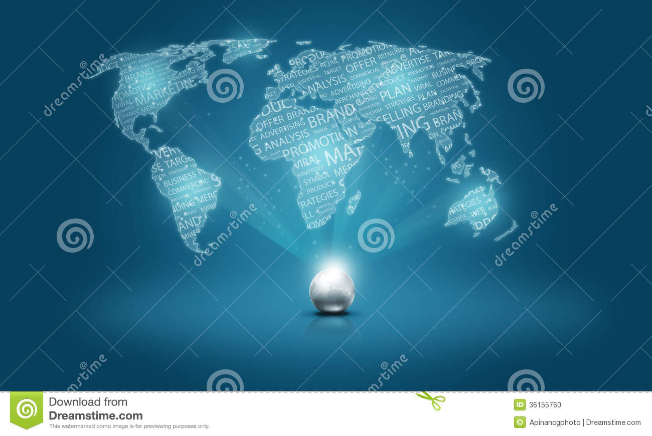 word business world concept  stock photo