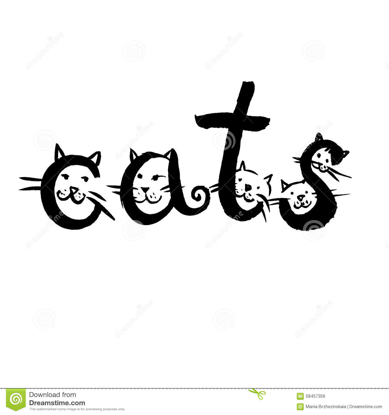 cats in word