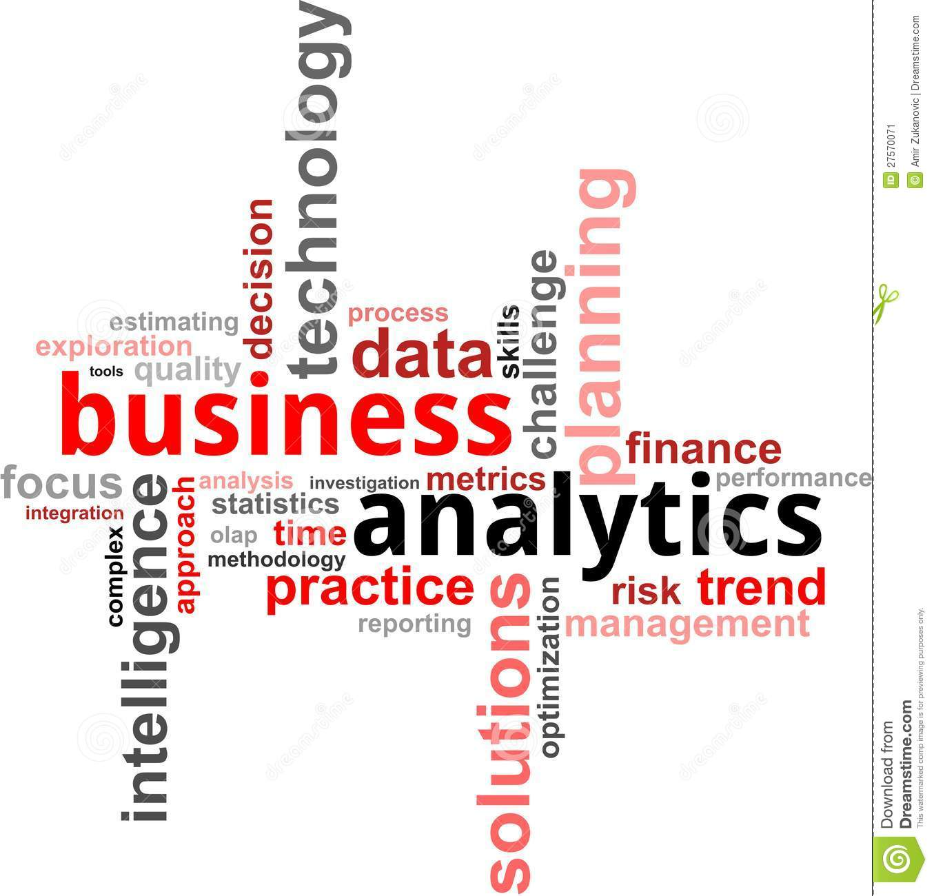 Business Analytics Stock Image