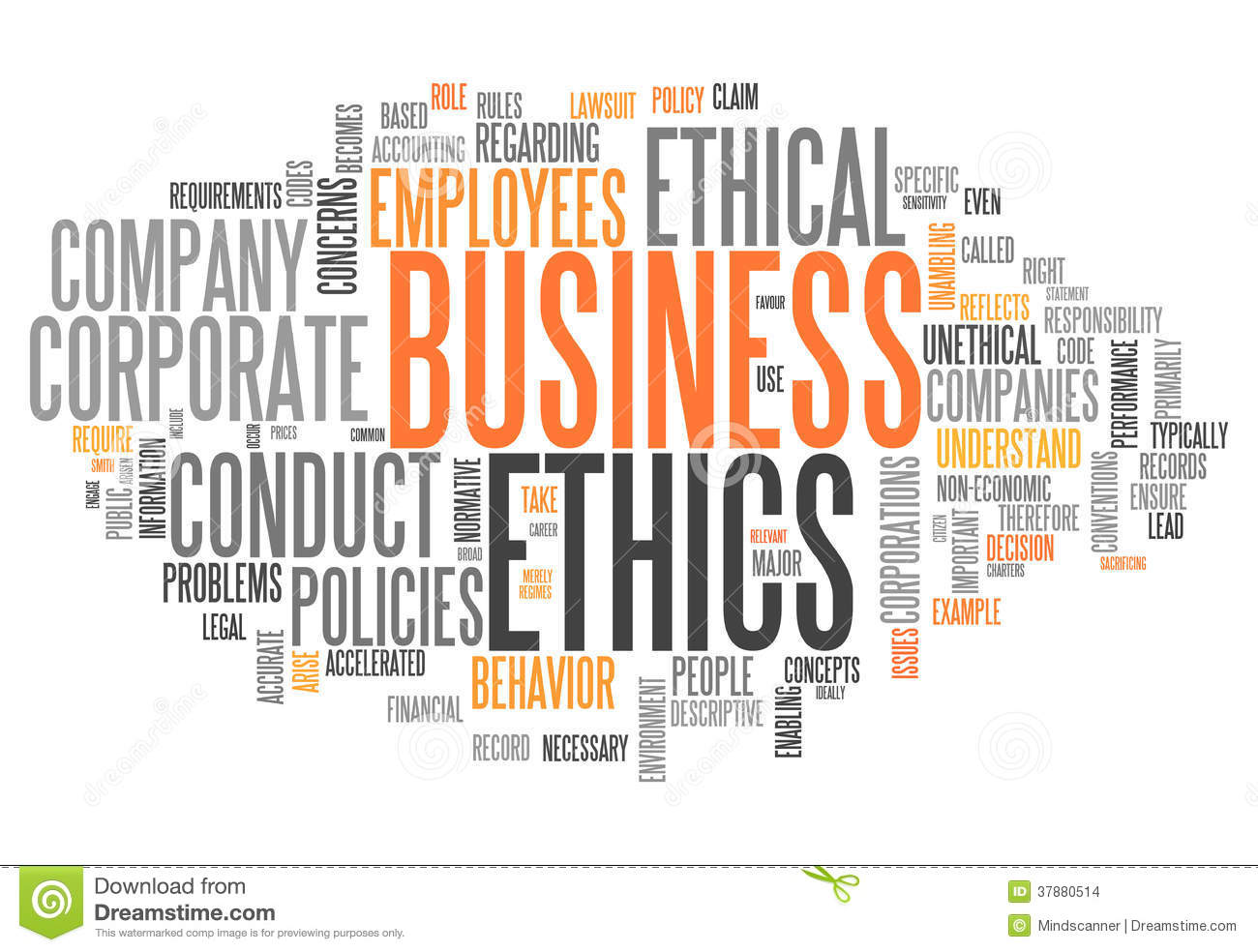 ethics relate to the core elements of operations Ethics/standards of conduct  others originate outside the organization and are related to the global  core elements of the human resources management framework.