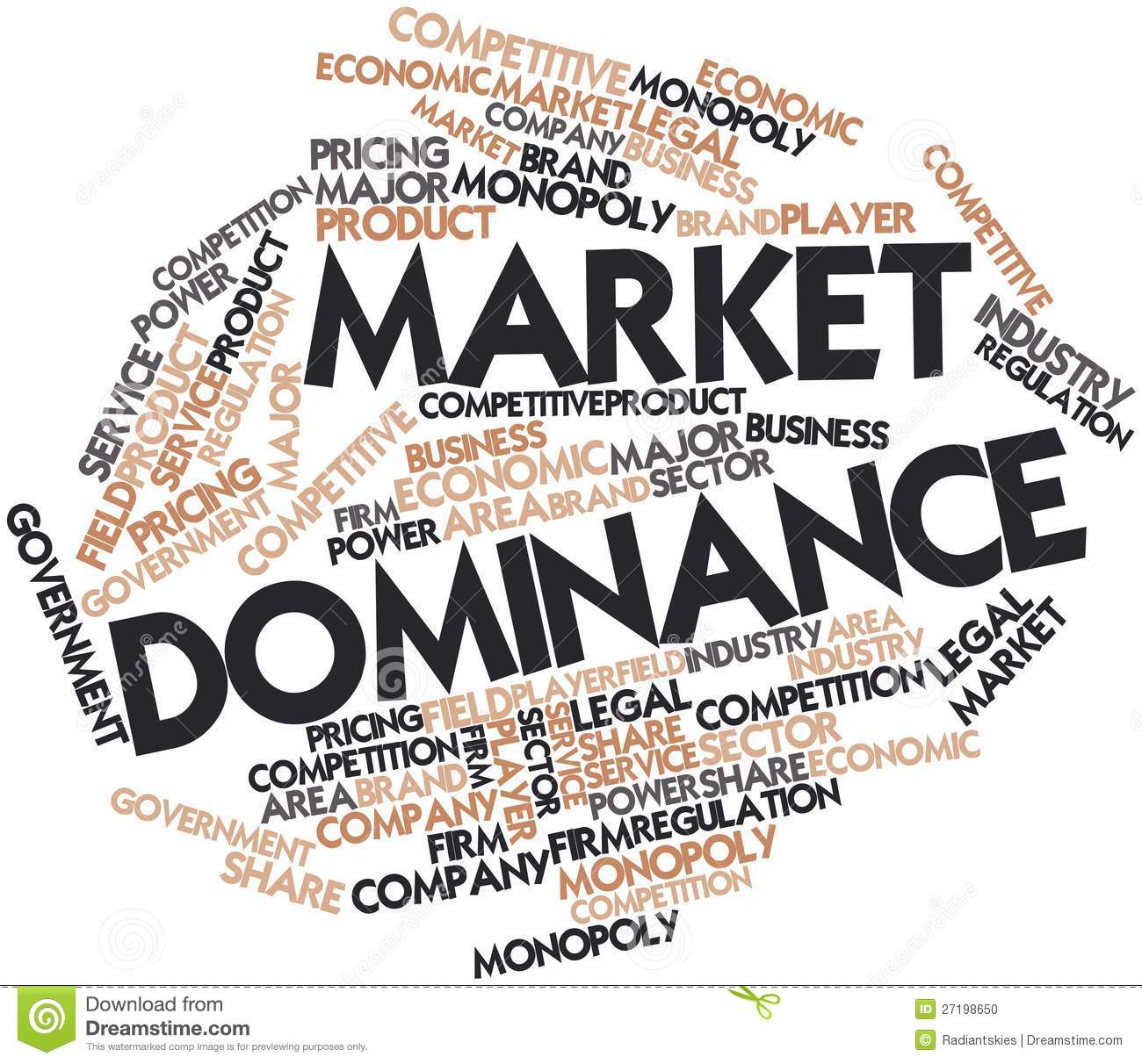 The Five Untold Facts About Market Dominance