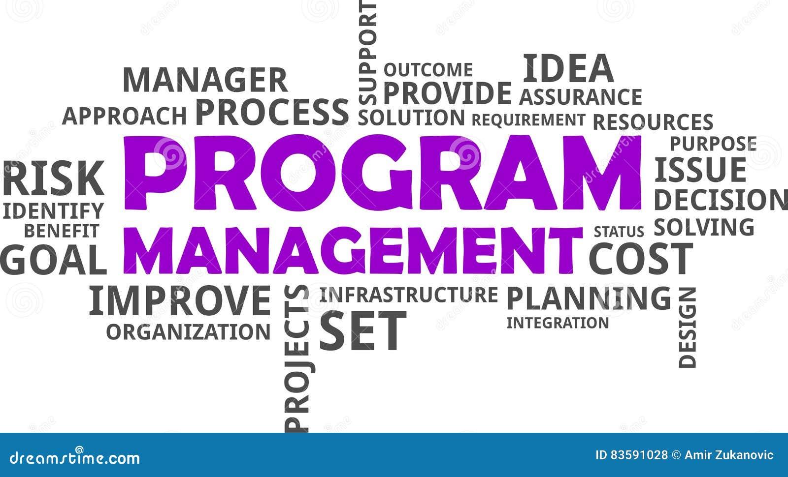 Cost U Less >> Word Cloud - Program Management Stock Photo - Image: 83591028