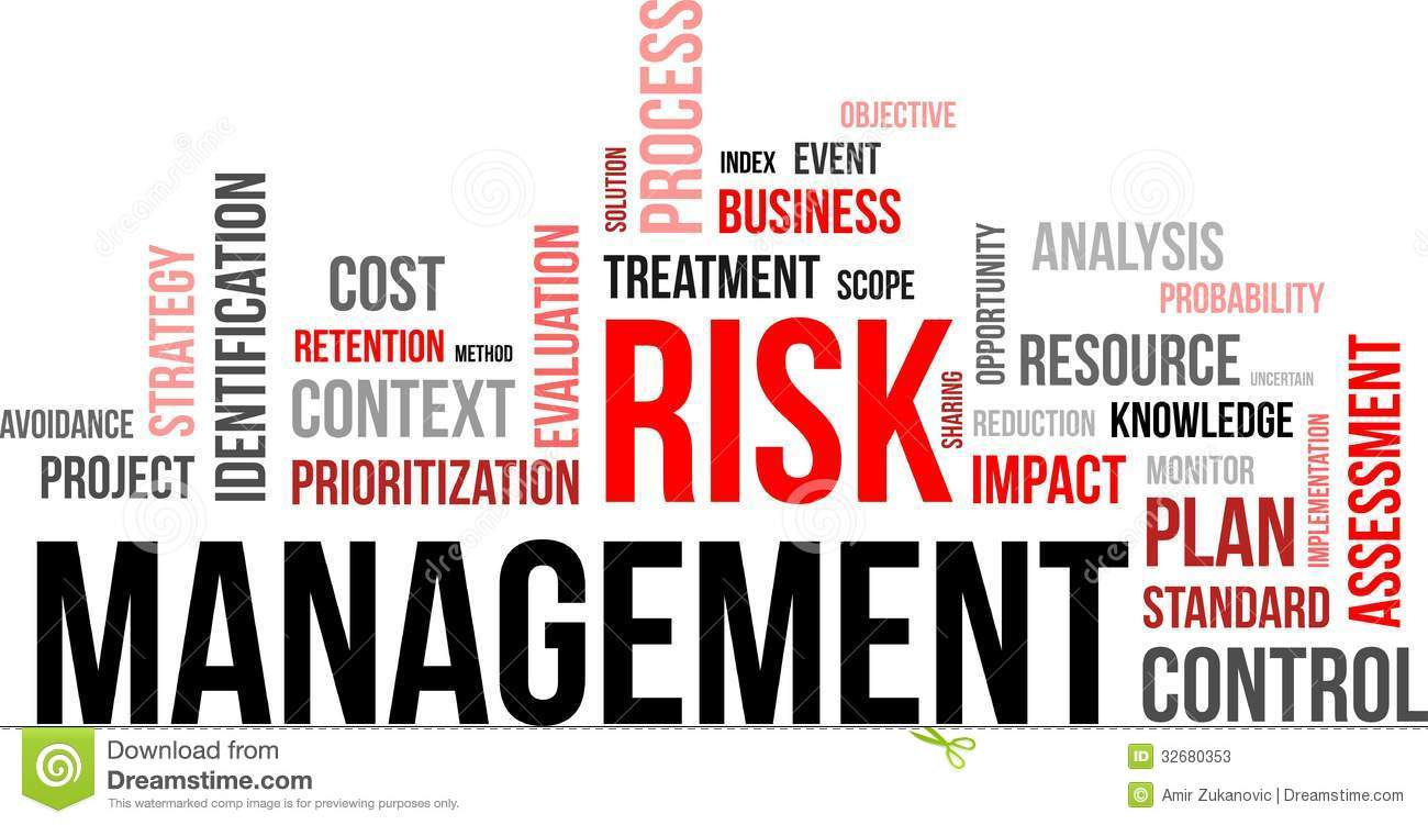 Word Cloud - Risk Management Stock Photos - Image: 32680353