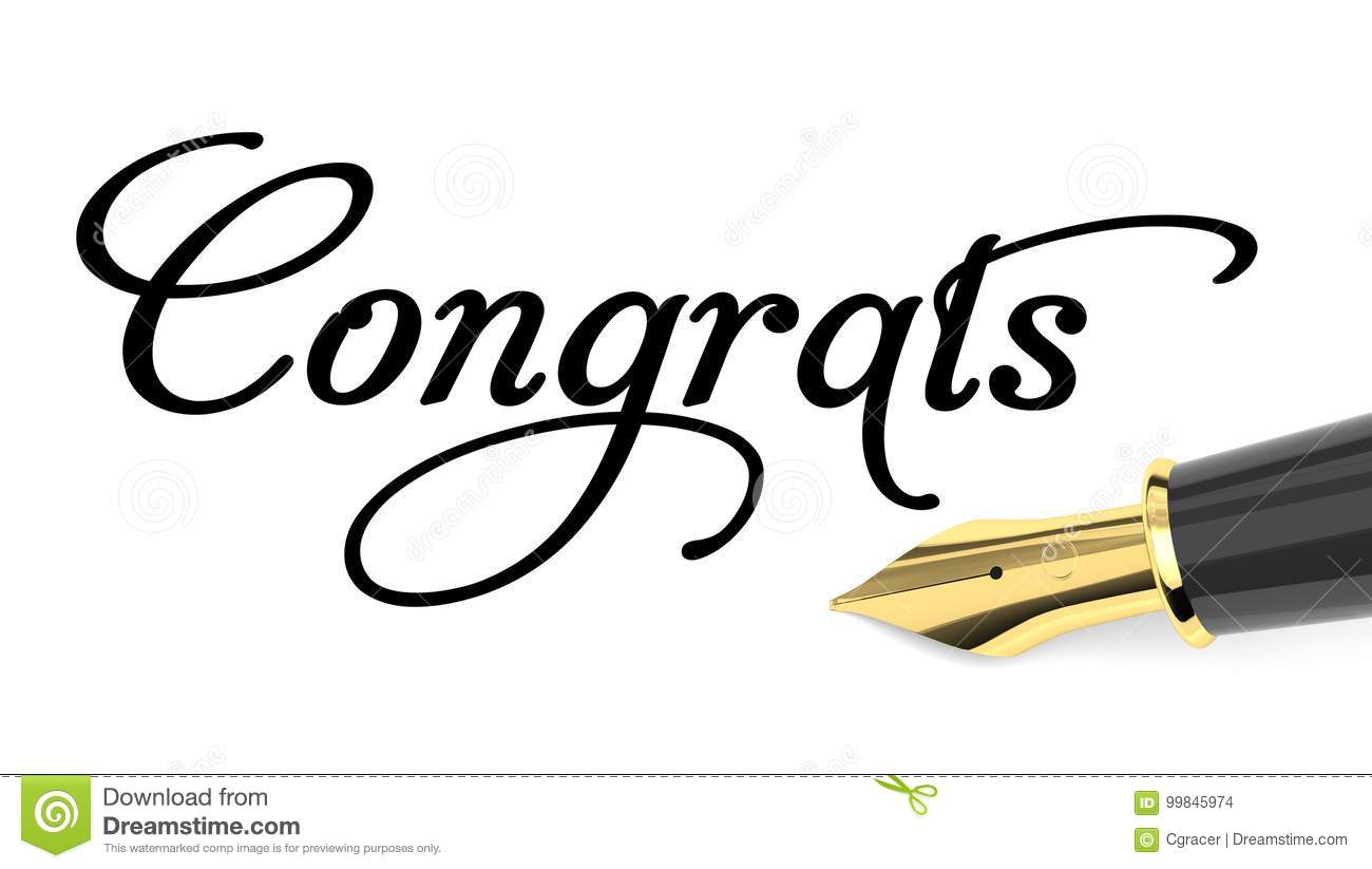 congratulations card stock illustration illustration of cards