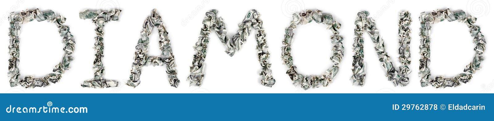 Diamond - Crimped 100$ Bills