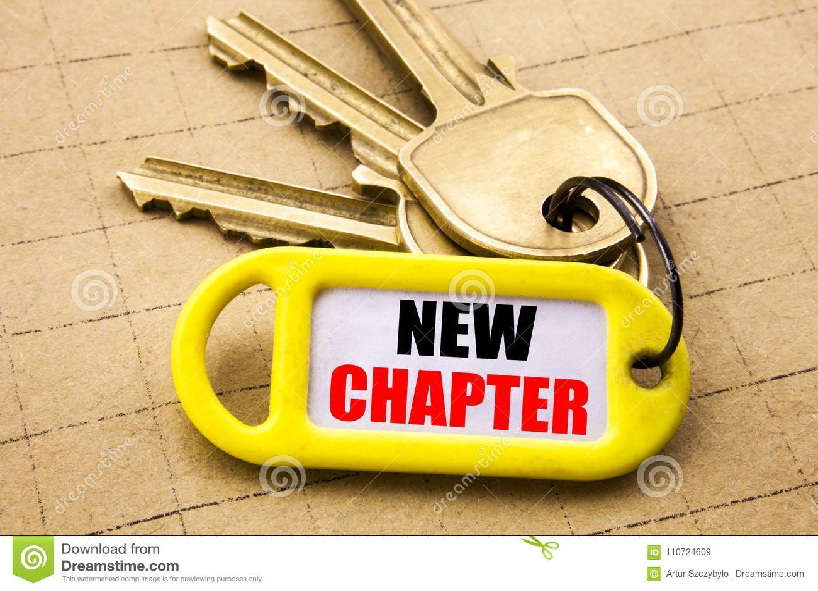 Word, die Nieuw Hoofdstuk schrijven Bedrijfsconcept voor het Beginnende Nieuwe Toekomstige die Leven op zeer belangrijke houder,