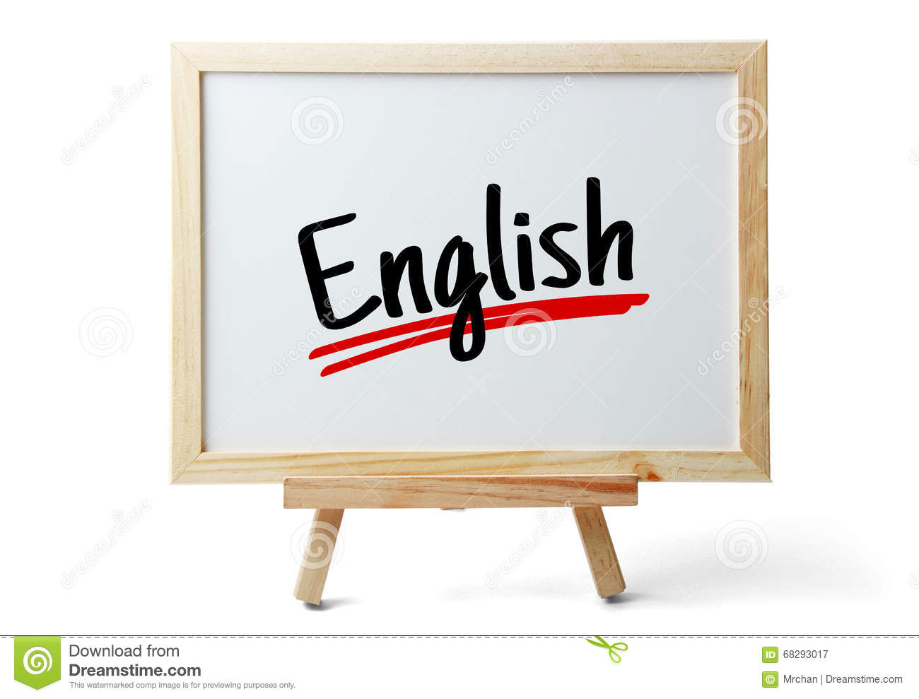 The Word English stock image. Image of marker, culture ...