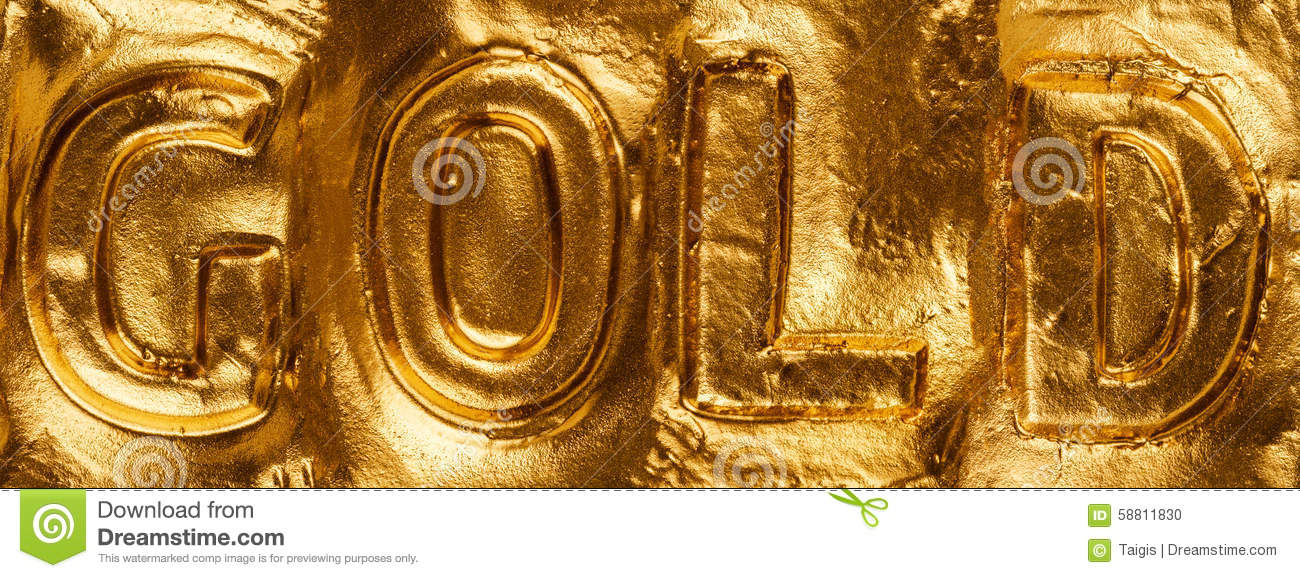 the word gold stock photo image of background graphic 58811830