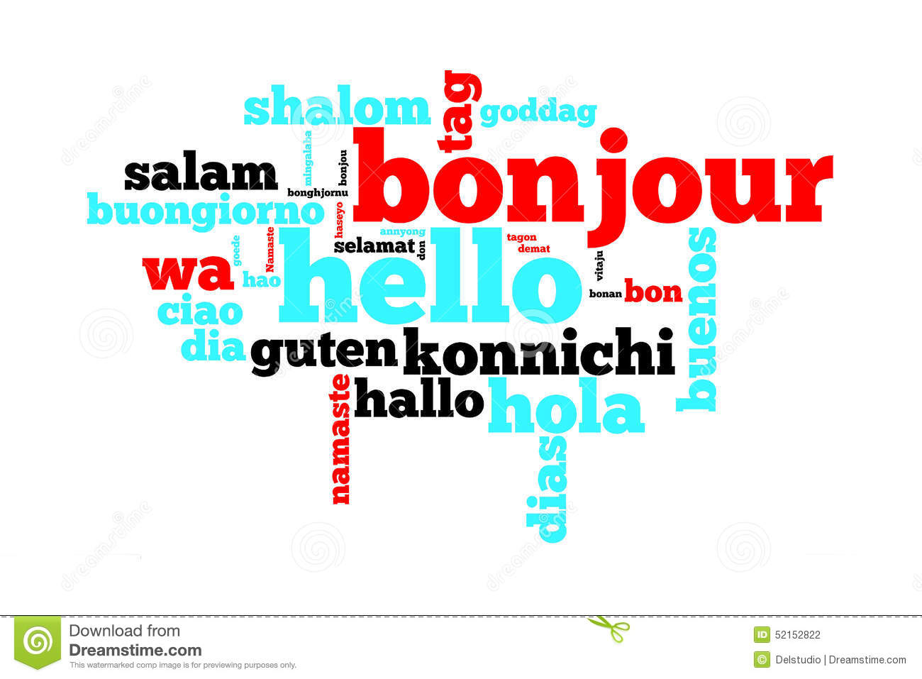 Hello Languages Stock Images 161 Photos
