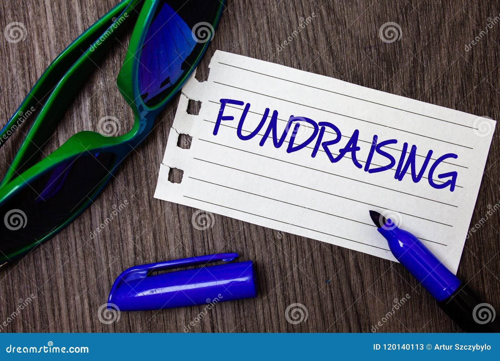 Word het schrijven tekstliefdadigheidsinstelling Het bedrijfsconcept voor het Zoeken van financiële steun voor liefdadigheid vero