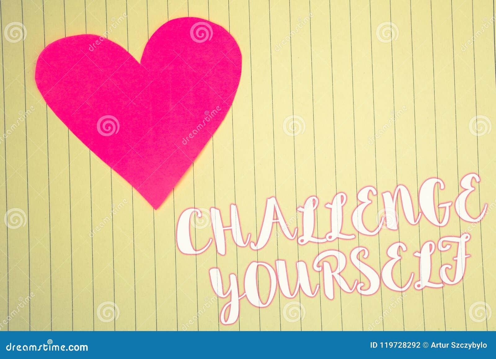 Word het schrijven tekstuitdaging zelf Het bedrijfsconcept voor de Overwonnen Verbetering van de Vertrouwens Sterke Aanmoediging