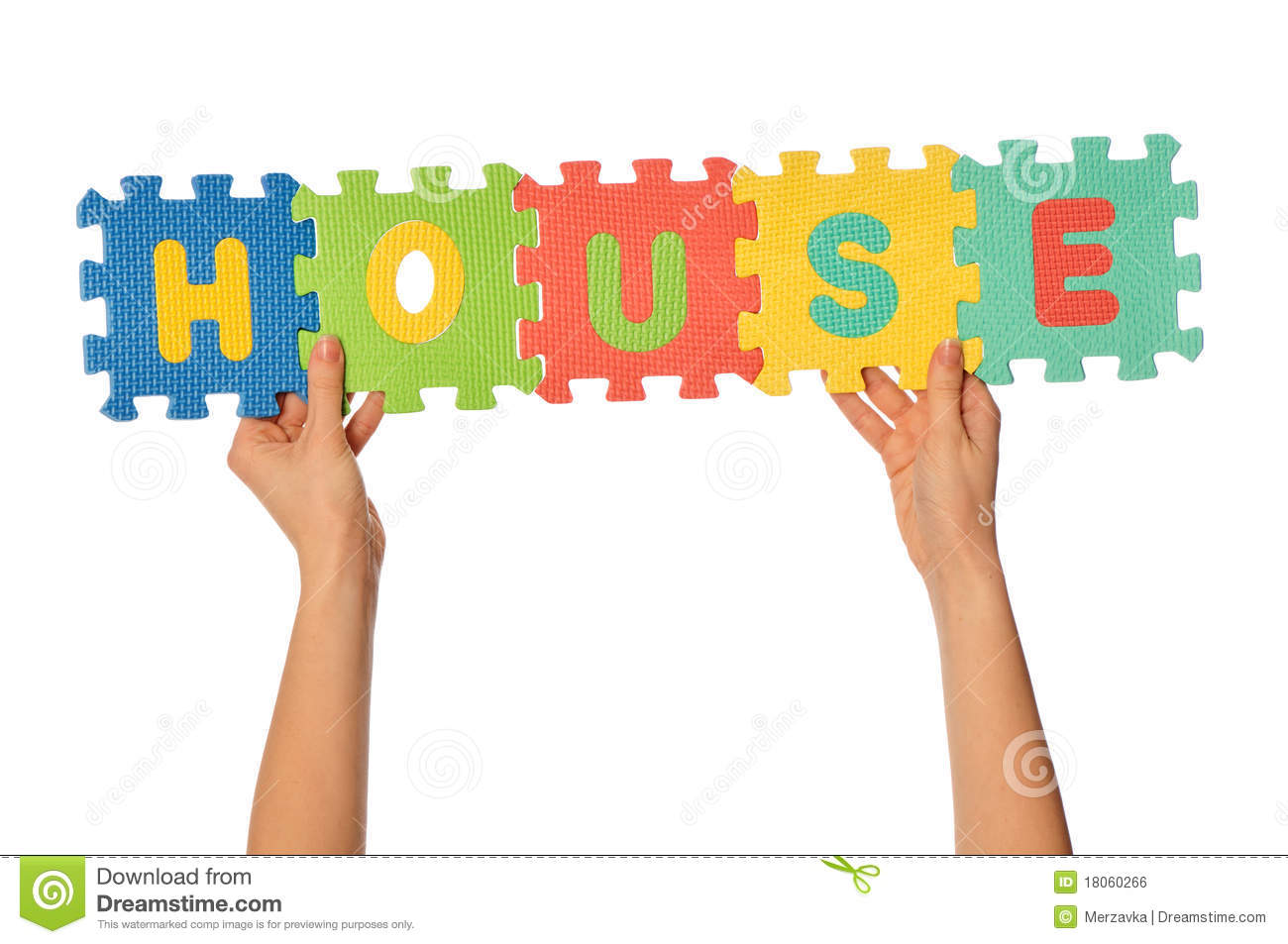 The Word House Royalty Free Stock Image - Image: 18060266