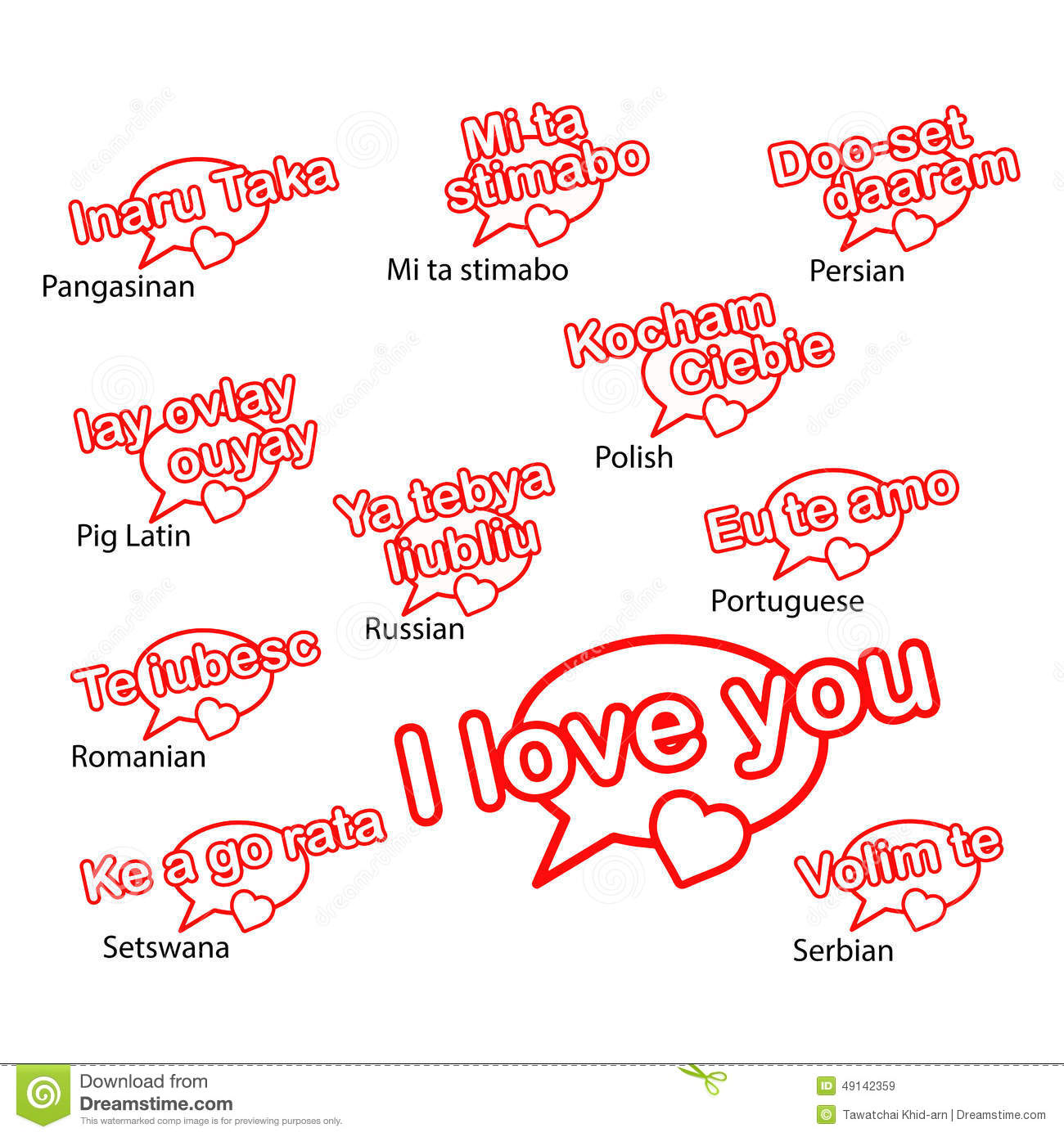 The Word Love In Different Languages List How To Write Love In Different