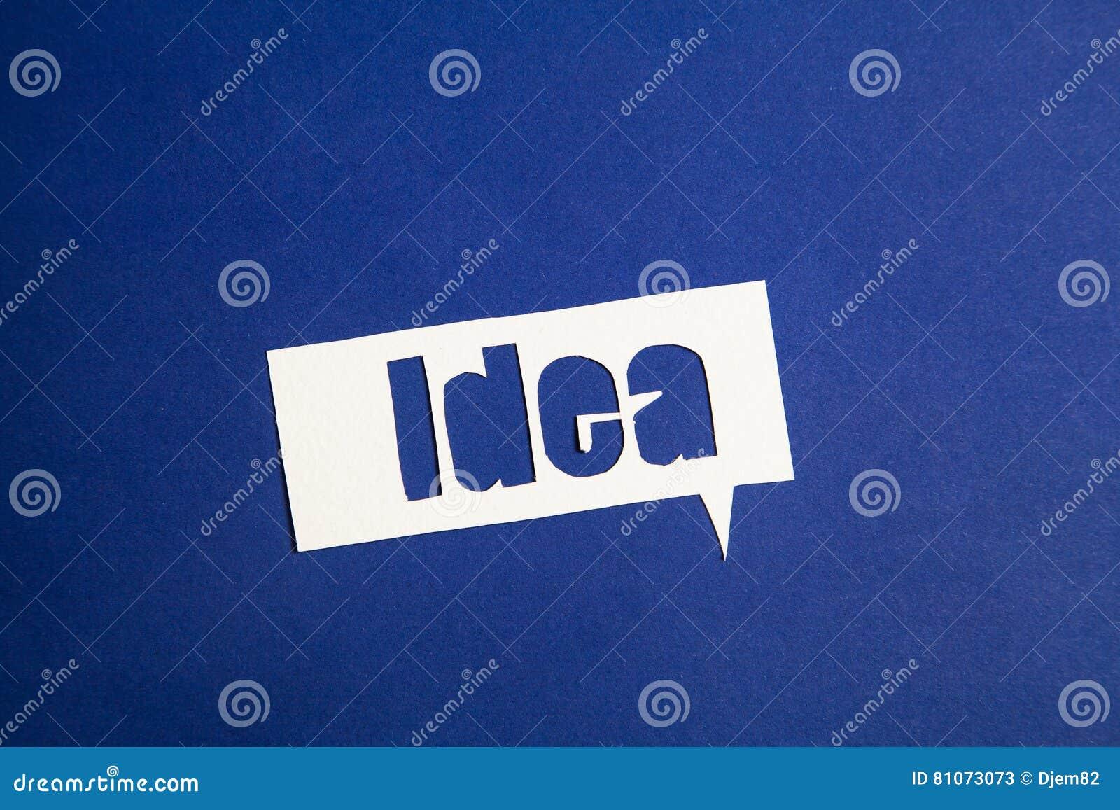 word for idea word for idea