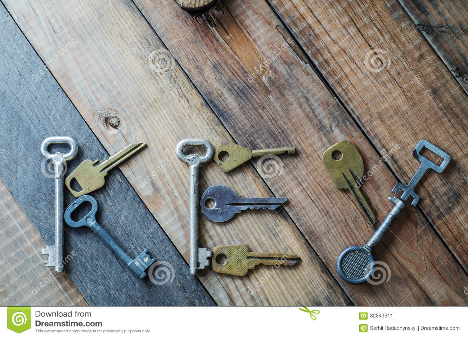 The word `key`  stock image  Image of brass, metal, grunge