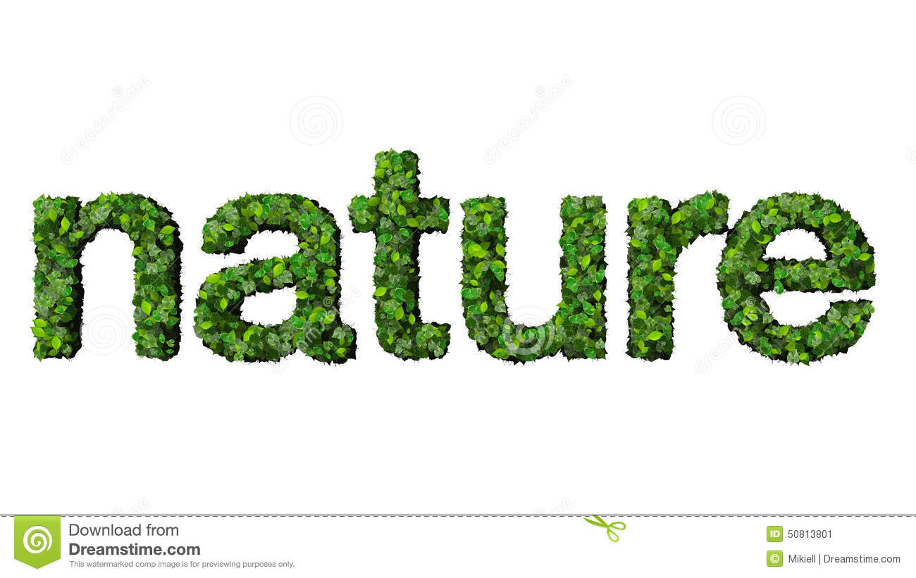 nature word template