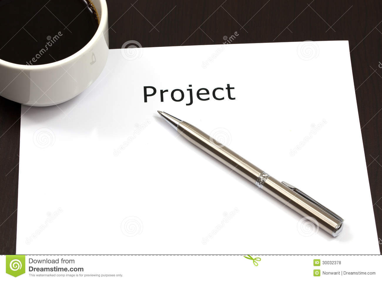 The Word Project Royalty Free Stock Photos - Image: 30032378