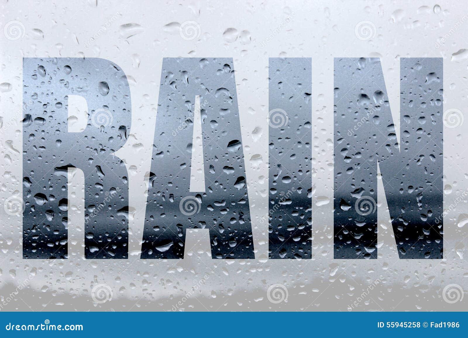 word rain stock photo image 55945258 raindrop vector art raindrop vector art
