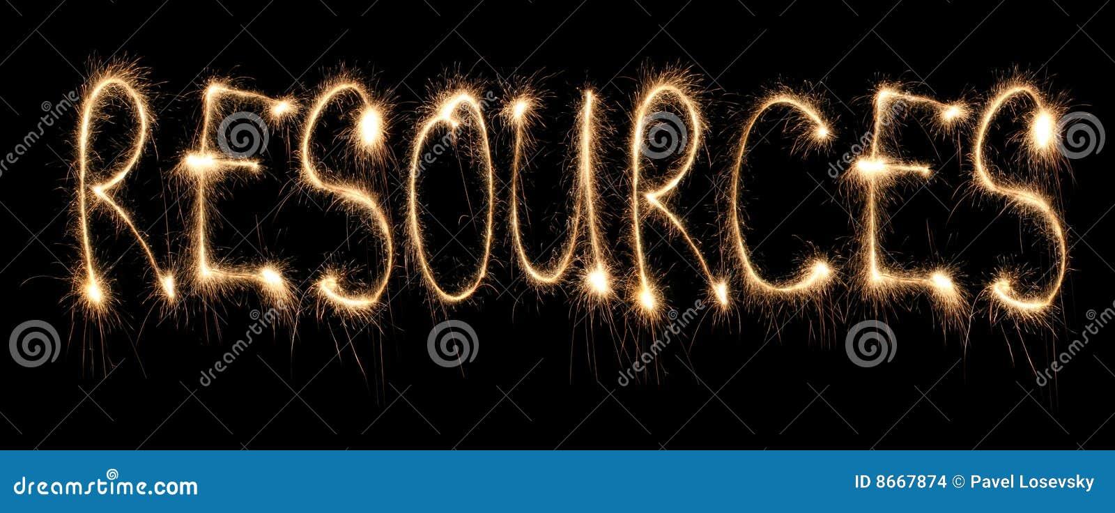 Download Word Resources Written Sparkler Stock Photo - Image of night, british: 8667874