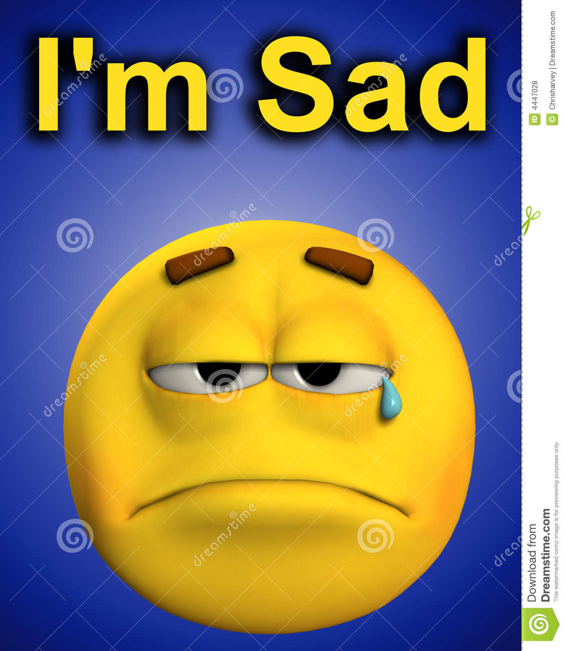 Kitchen Cabinet Faces Word Of Sadness Royalty Free Stock Photos Image 4447028