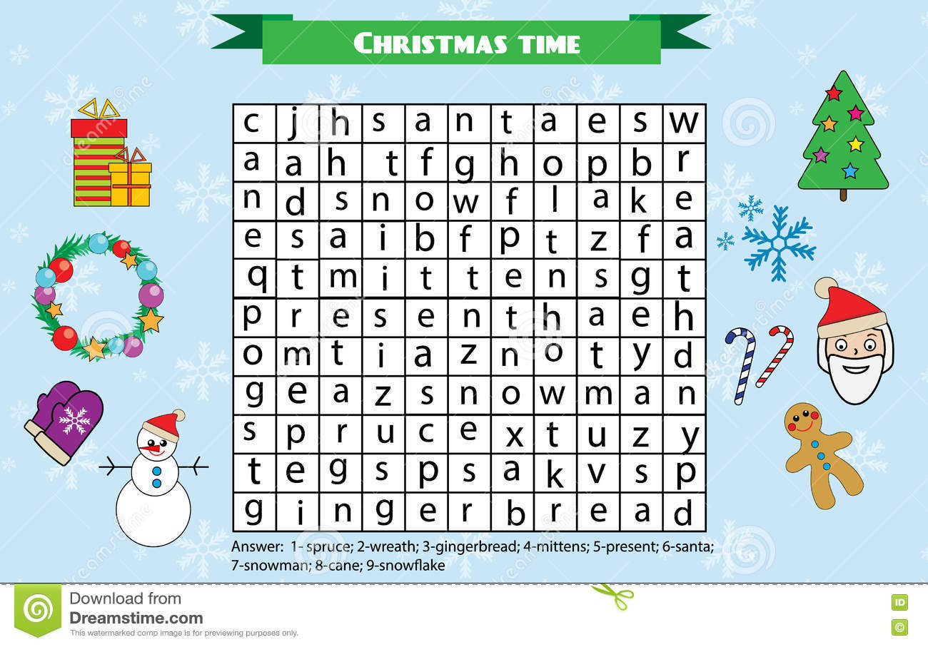 Printable Christmas Word Search Puzzles Christmas Word 152818 - aks ...