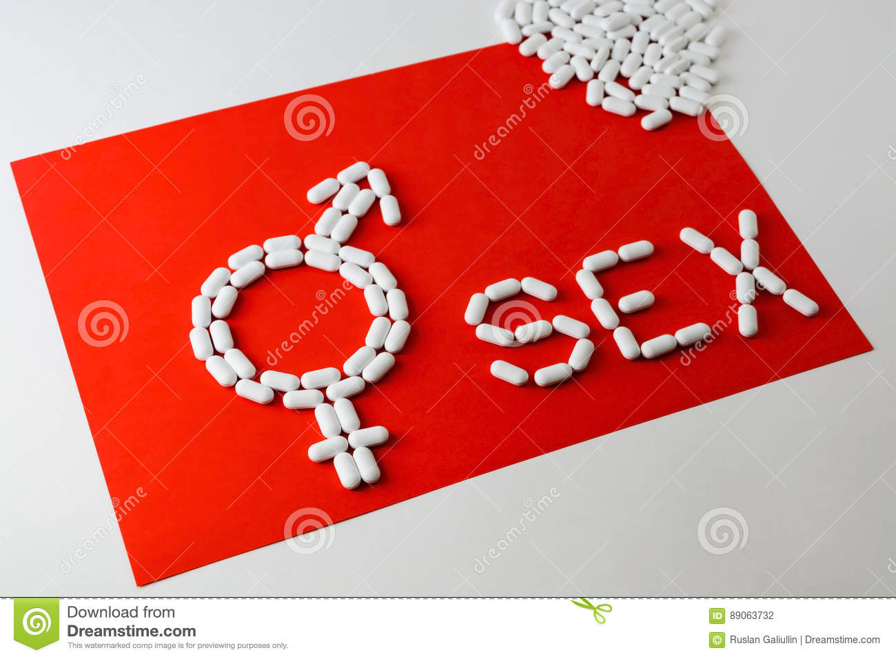 The word sex with capsules and pills with treatments for erectile royalty free stock photo biocorpaavc Images