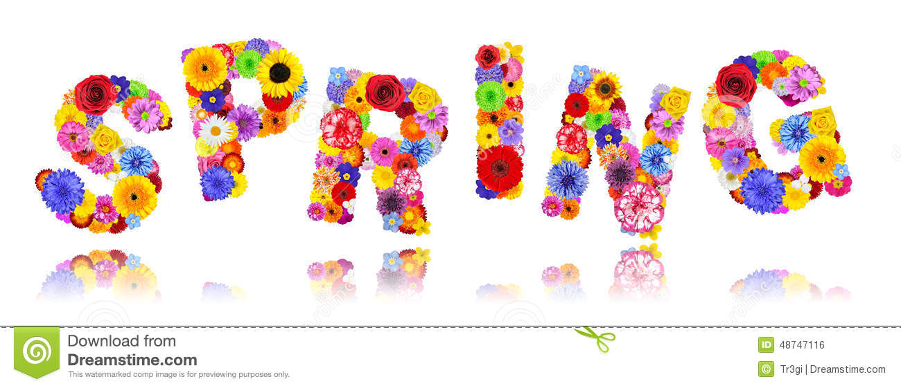 Words Out Of Letters Floral
