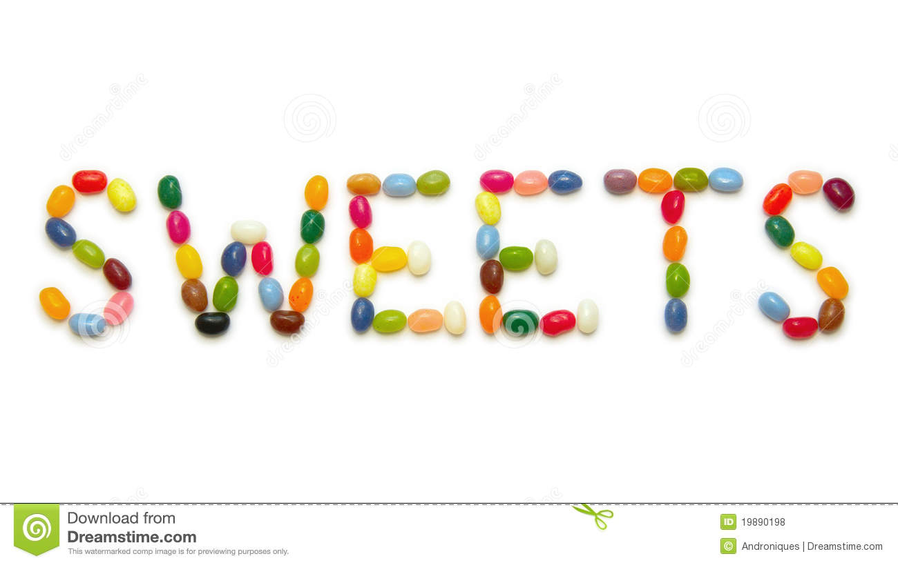 word sweets made of jelly beans on white stock photo jelly bean clip art frame jelly beans clip art b ack and white