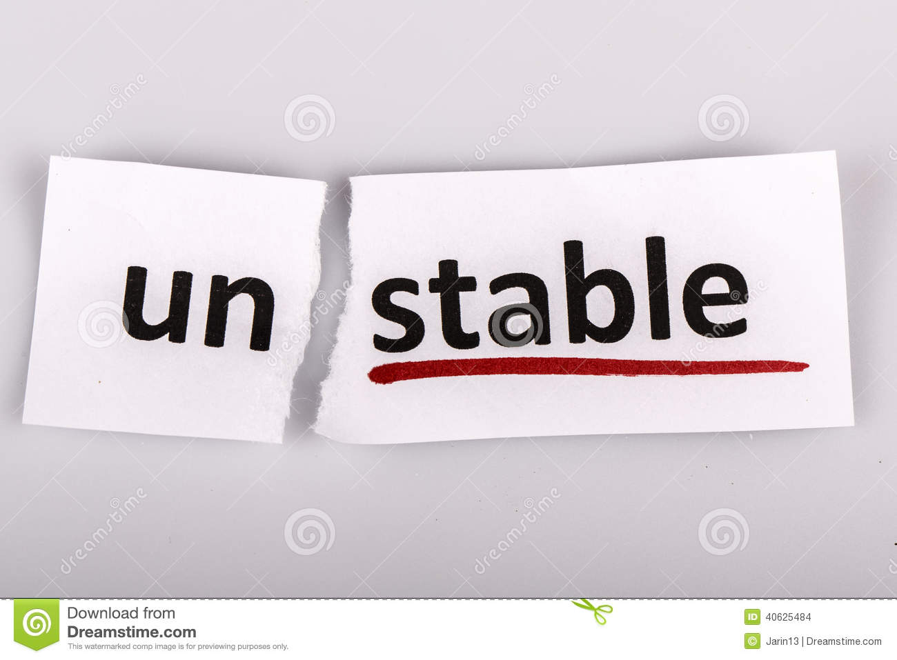 The Word Unstable Chan... Word Stability