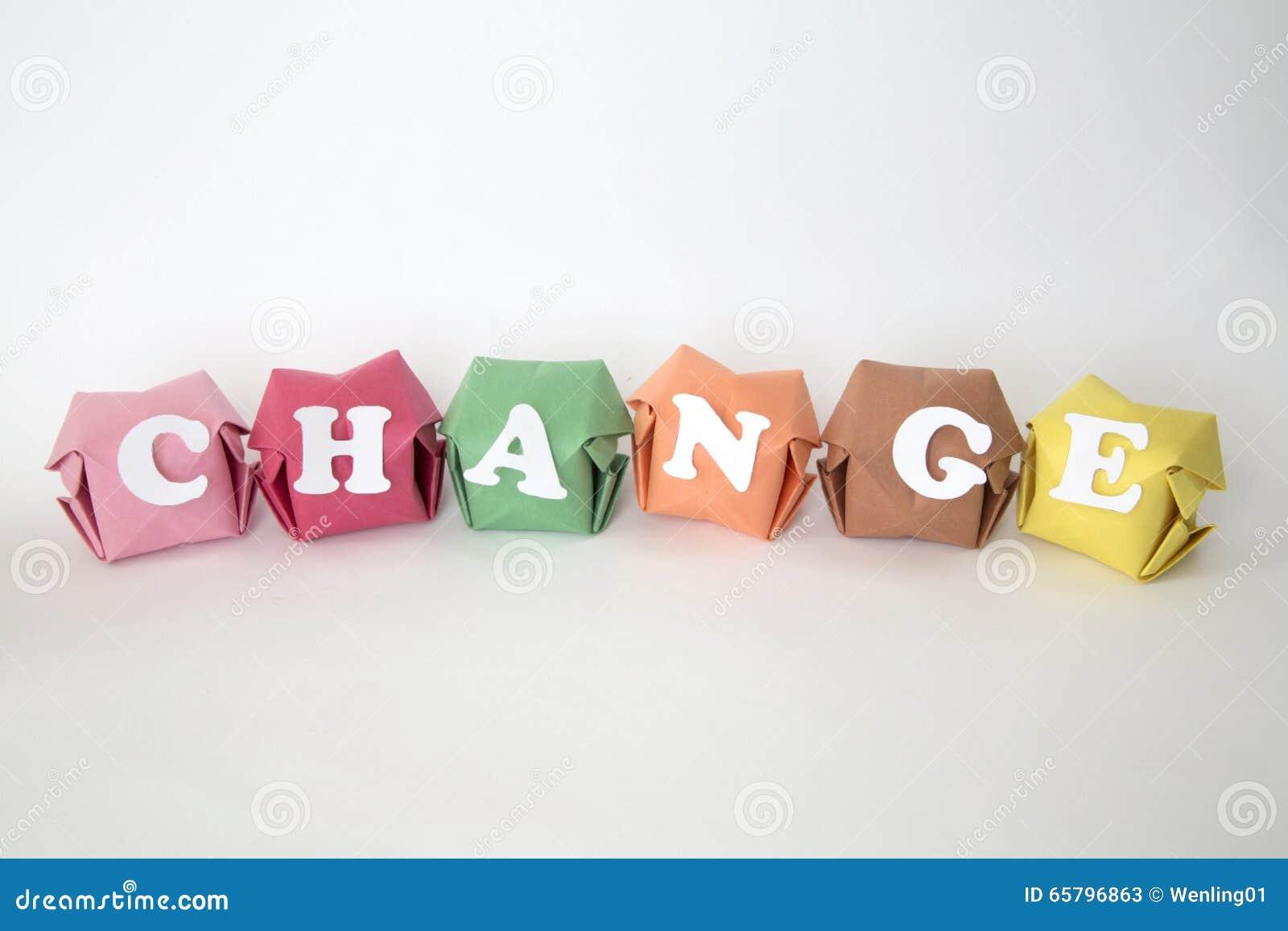 Word Verandering