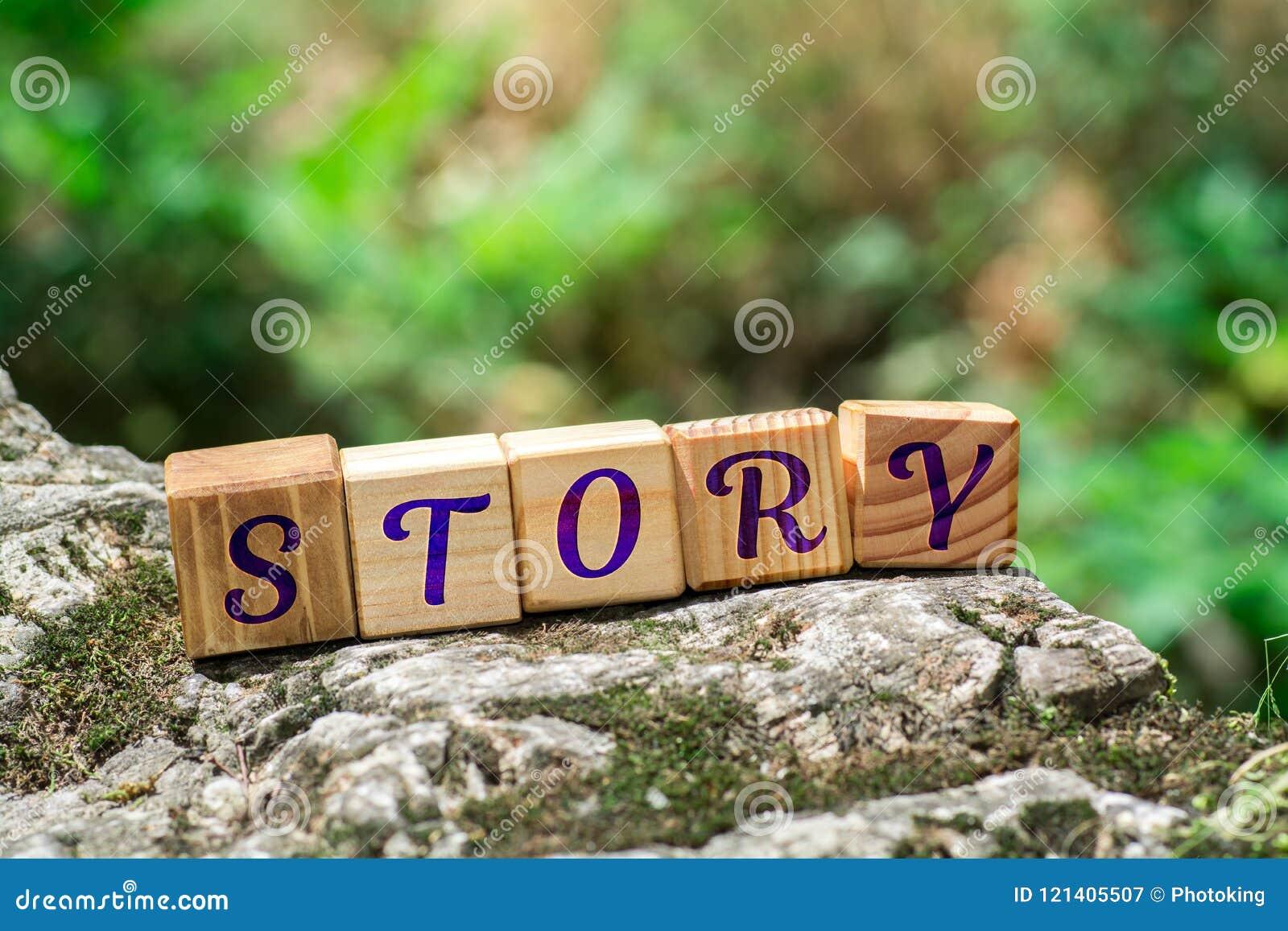 Word verhaal op steen