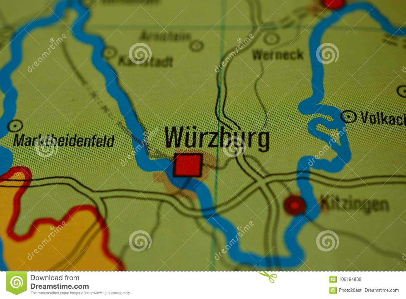 Physical Map Of Germany Stock Aac Map - Germany physical map