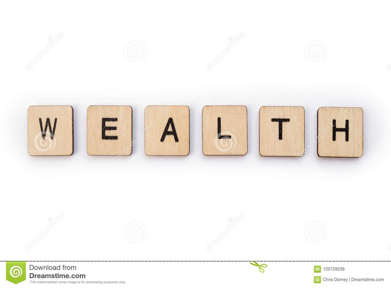 The word WEALTH