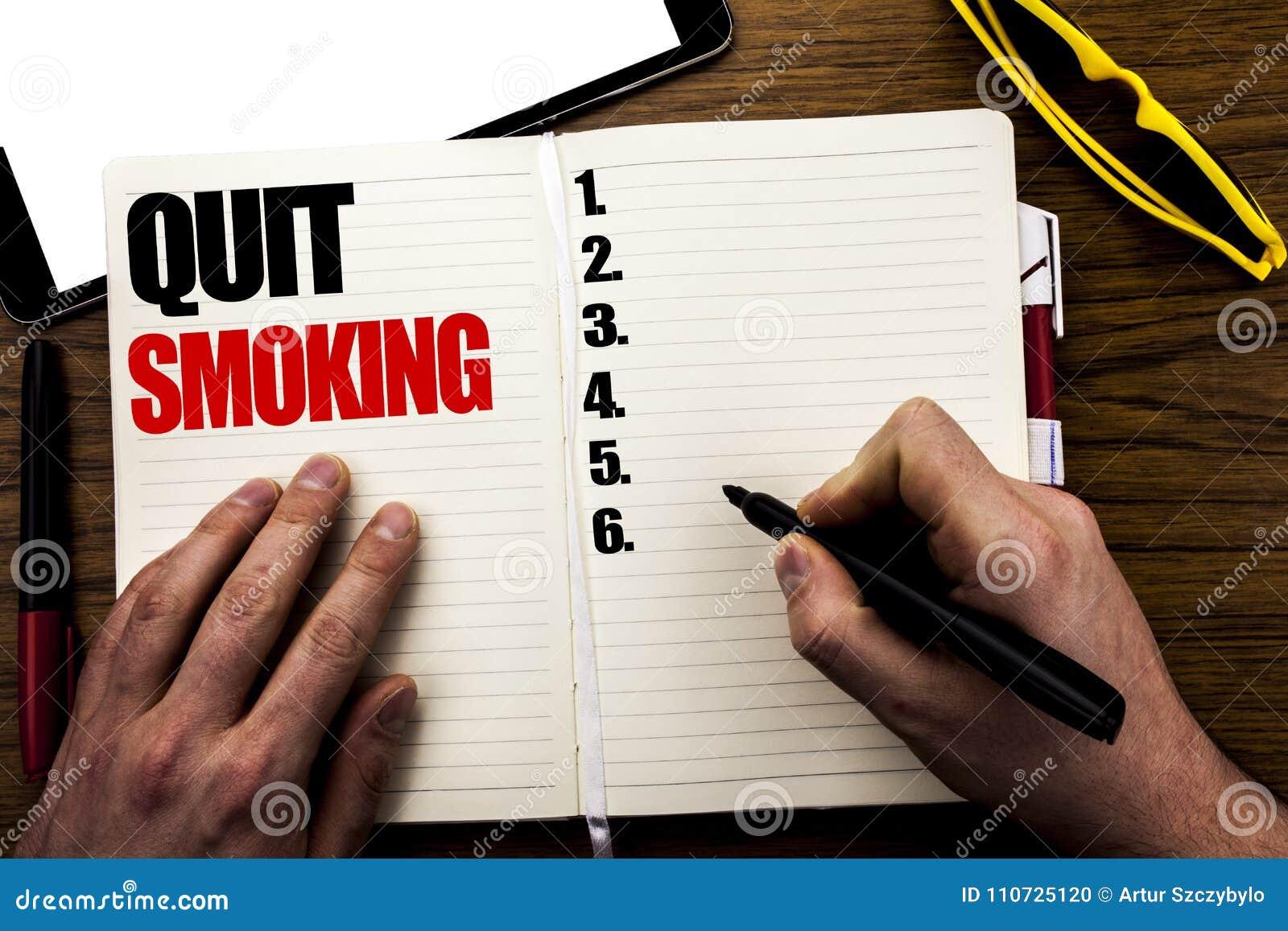 Smoking book quit
