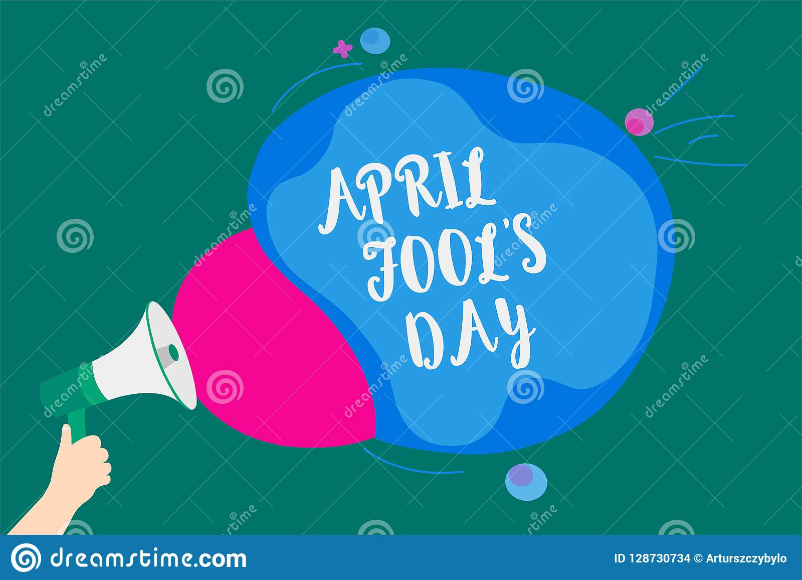 Word writing text April Fool s is Day. Business concept for Practical jokes humor pranks Celebration funny foolish