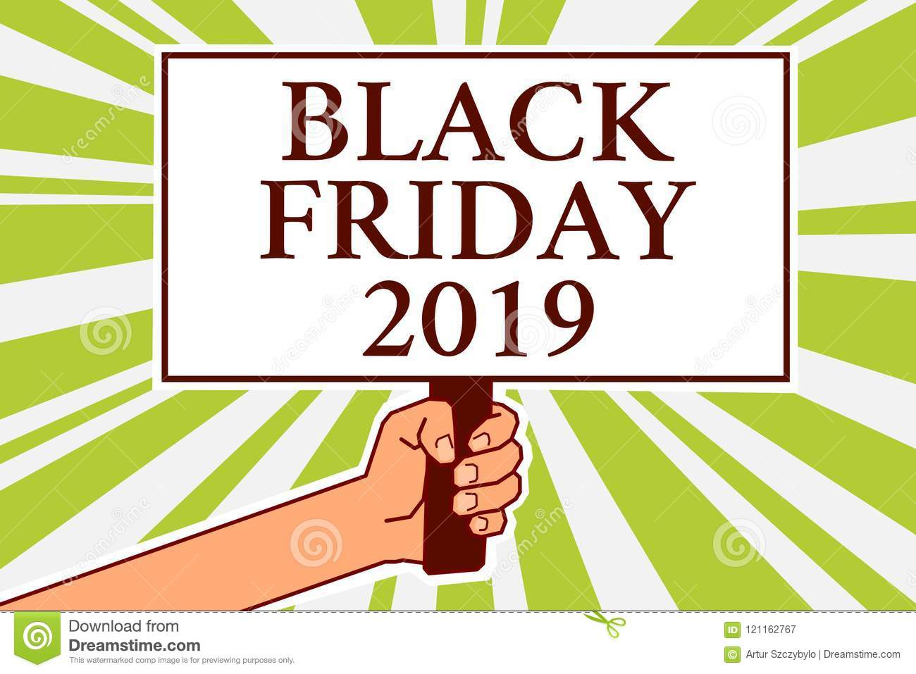 word writing text black friday 2019 business concept for day