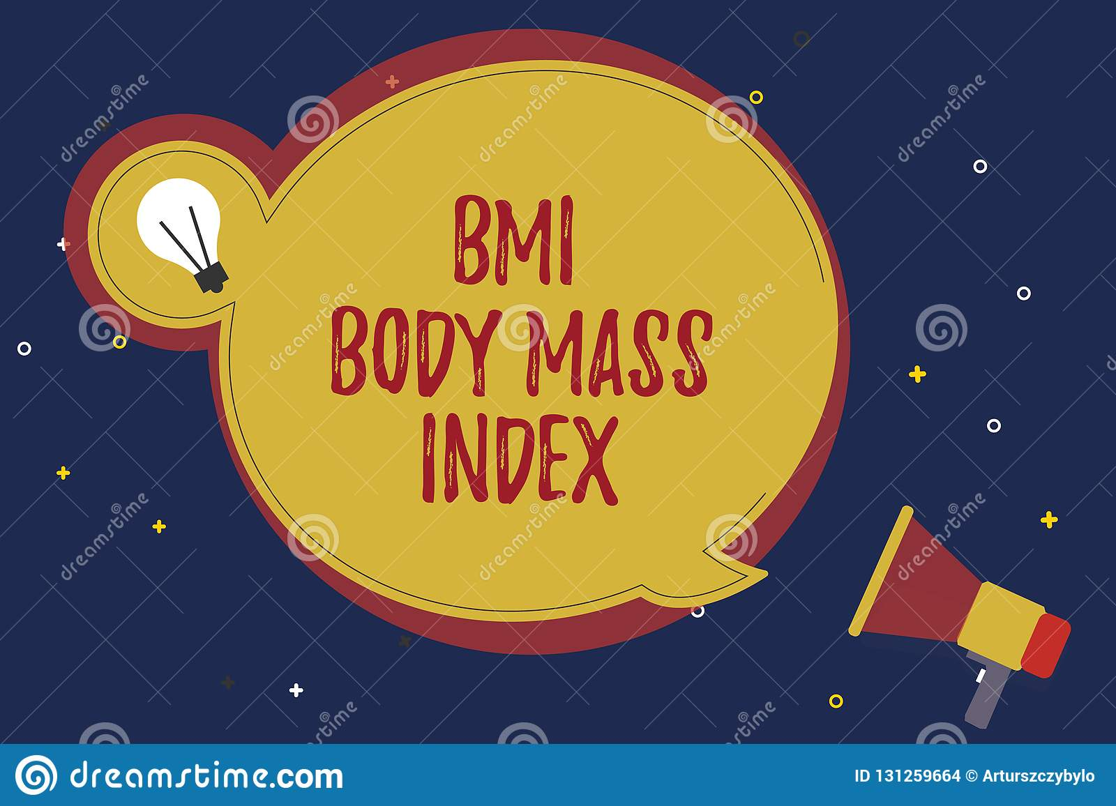 Word writing text Bmi Body Mass Index. Business concept for body fat based on weight and weight measurement