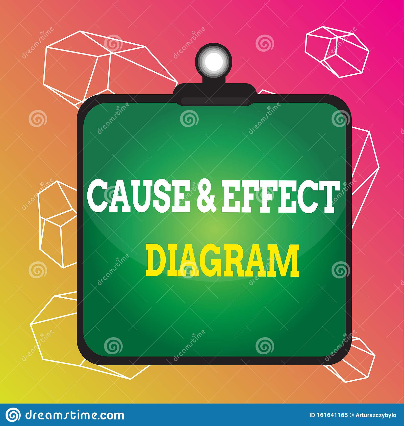 Word Writing Text Cause And Effect Diagram Business Concept For Visualization Tool To Categorize Potential Causes Stock Illustration Illustration Of Consequence Effects 161641165