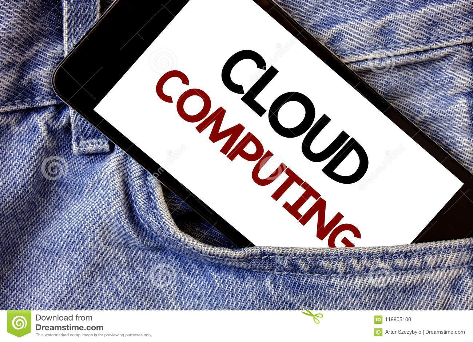 Business Concept For Online Information Storage Virtual Media Data Server