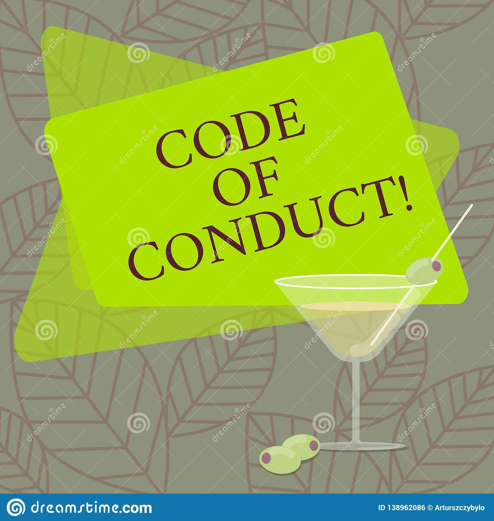 Word writing text Code Of Conduct. Business concept for Ethics rules moral codes ethical principles values respect