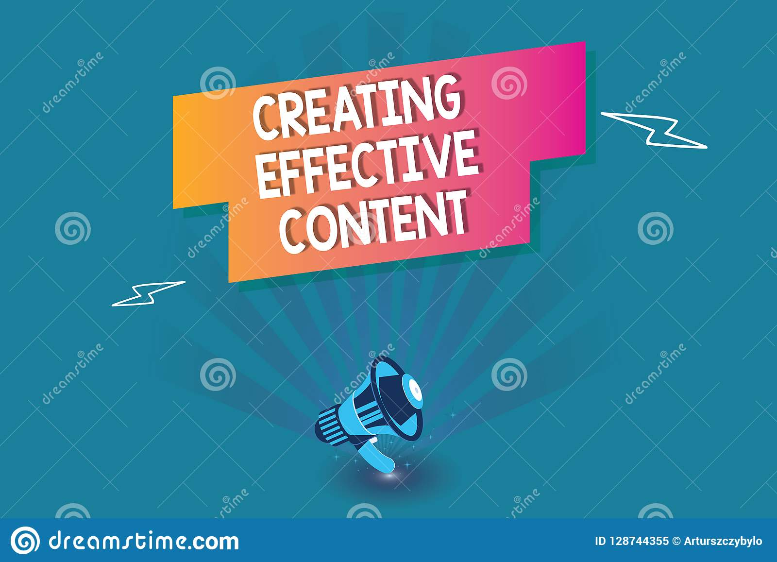 word writing text creating effective content business concept for