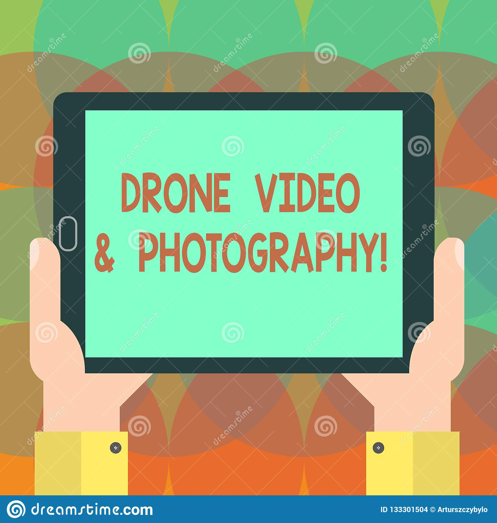 Word Writing Text Drone Video And Photography  Business