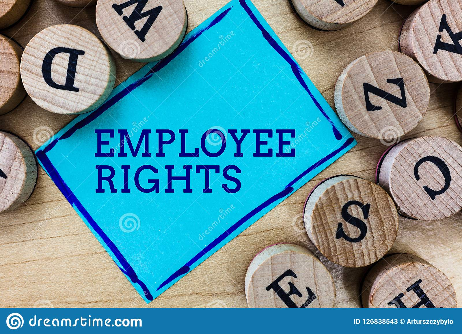 Word writing text Employee Rights. Business concept for All employees have basic rights in their own workplace