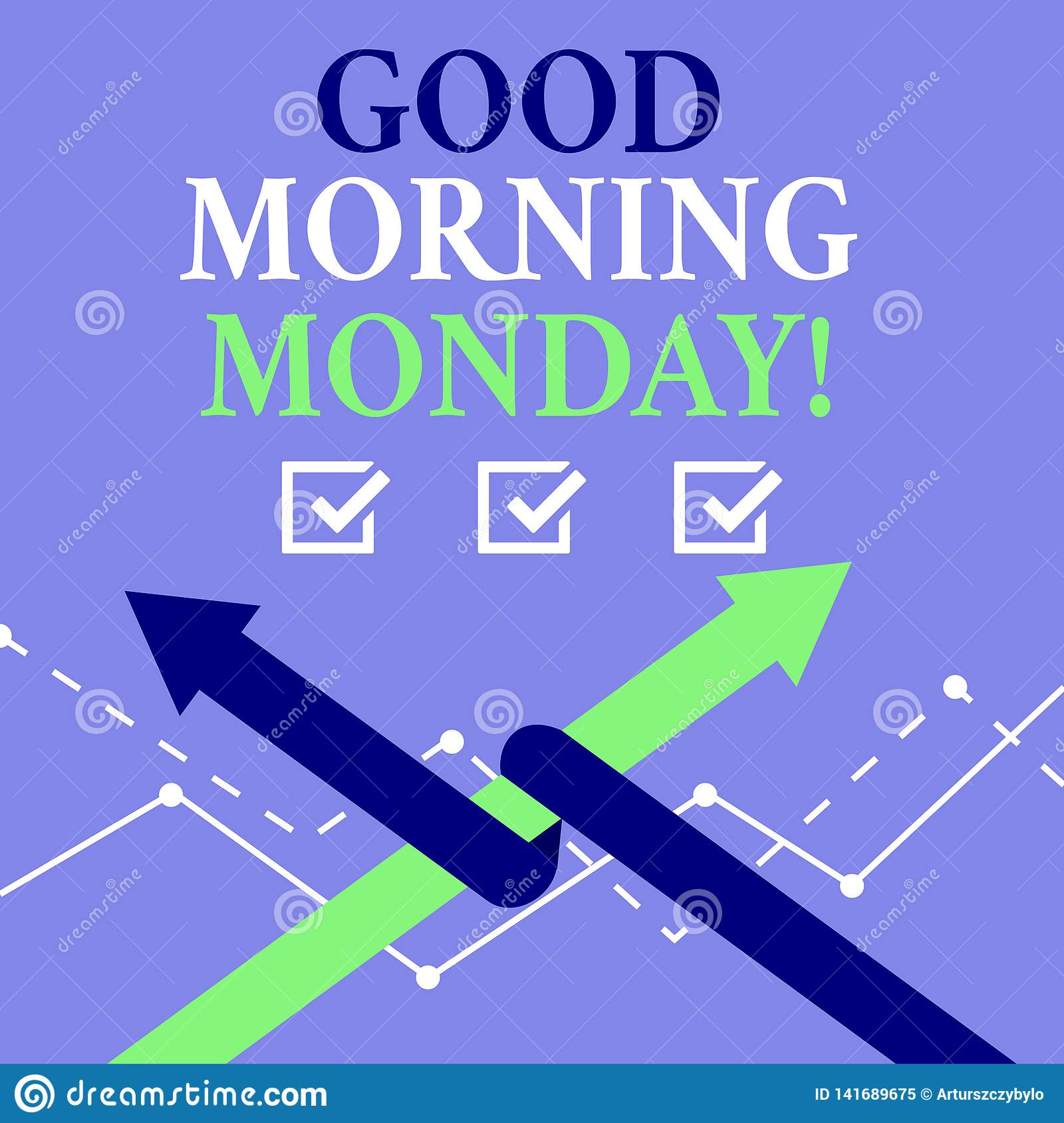 Word writing text Good Morning Monday. Business concept for Happy Positivity Energetic Breakfast.