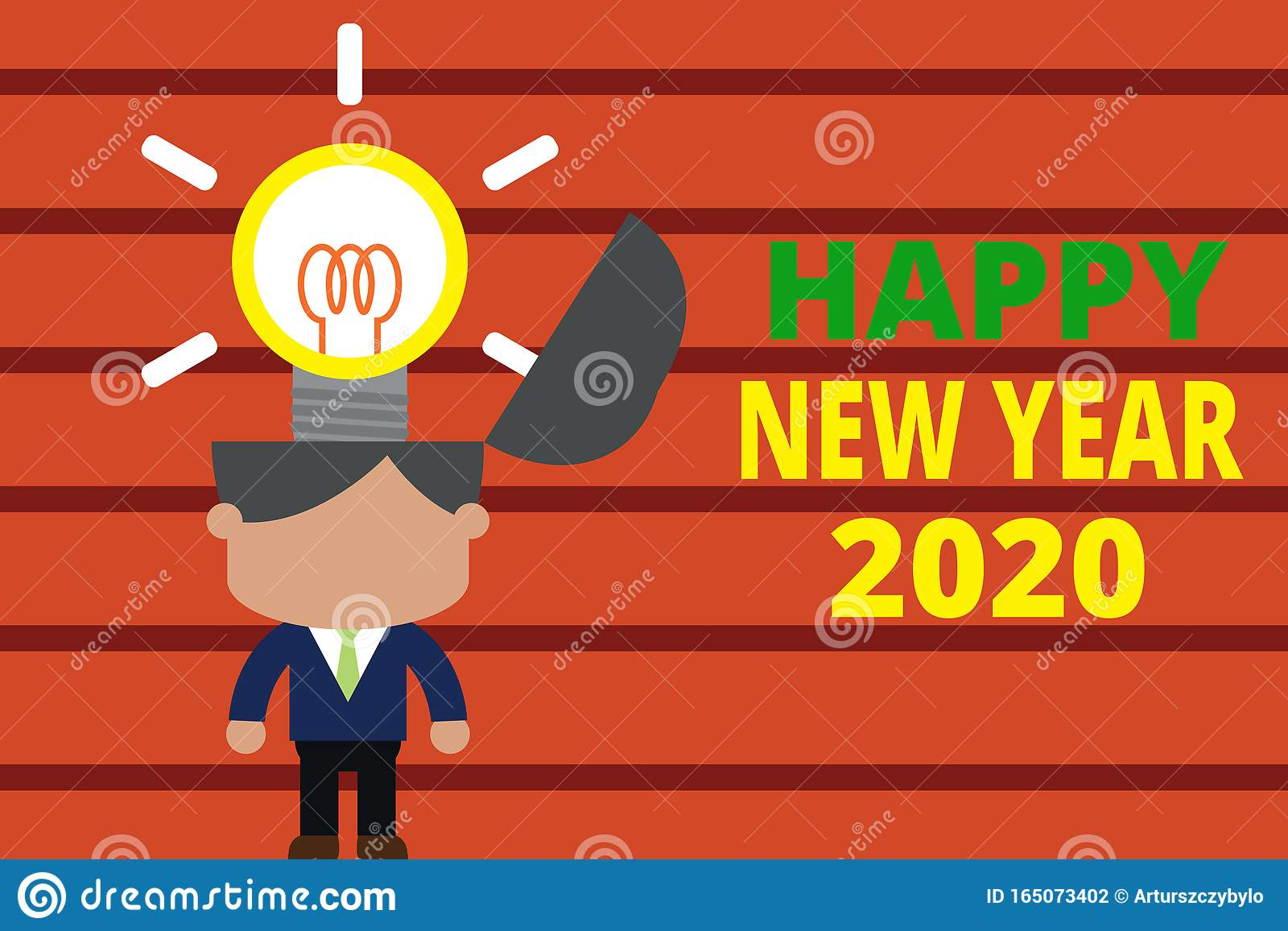 Word Writing Text Happy New Year 2020. Business Concept ...