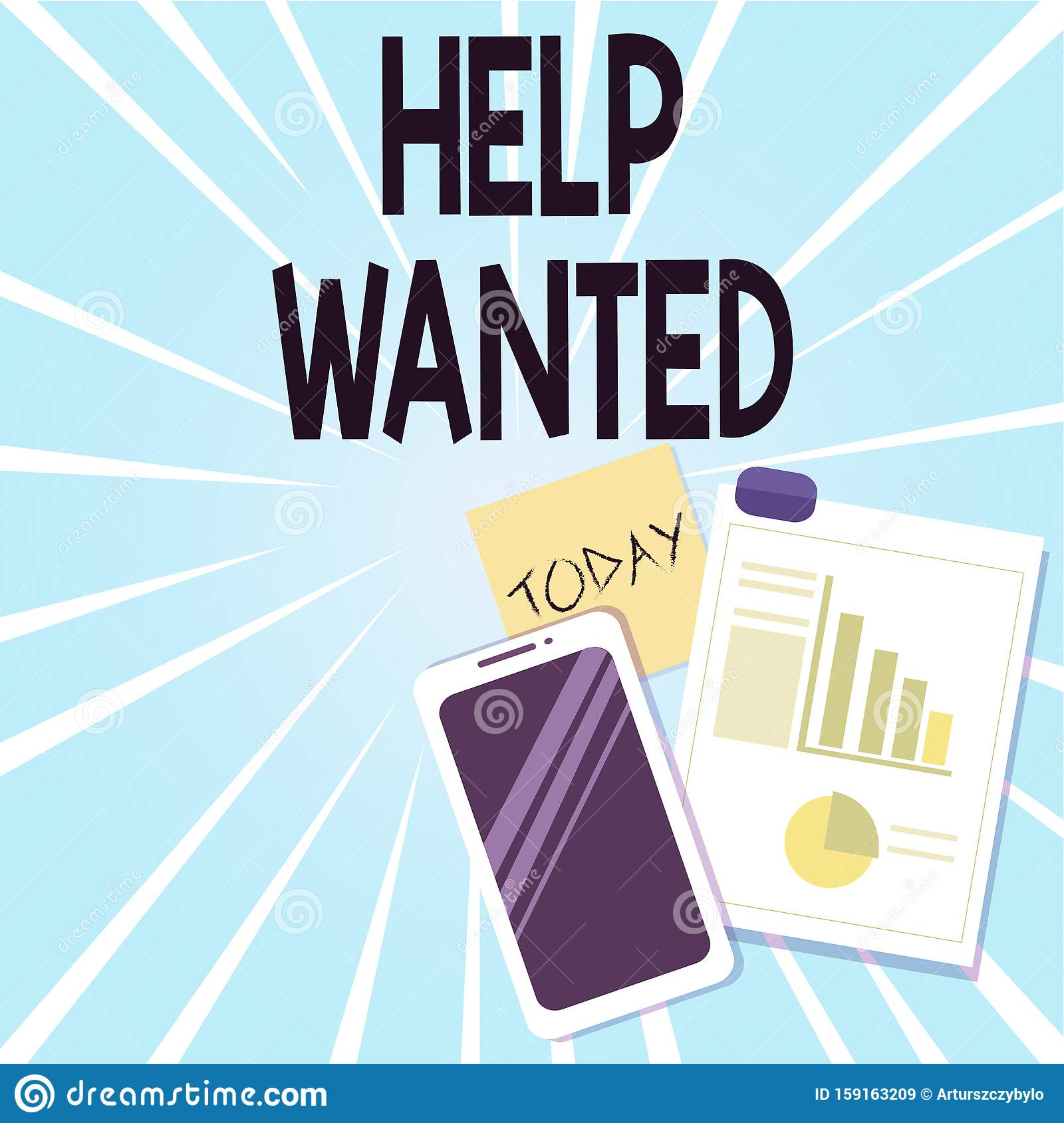 Write a business wanted ad achim employe resume