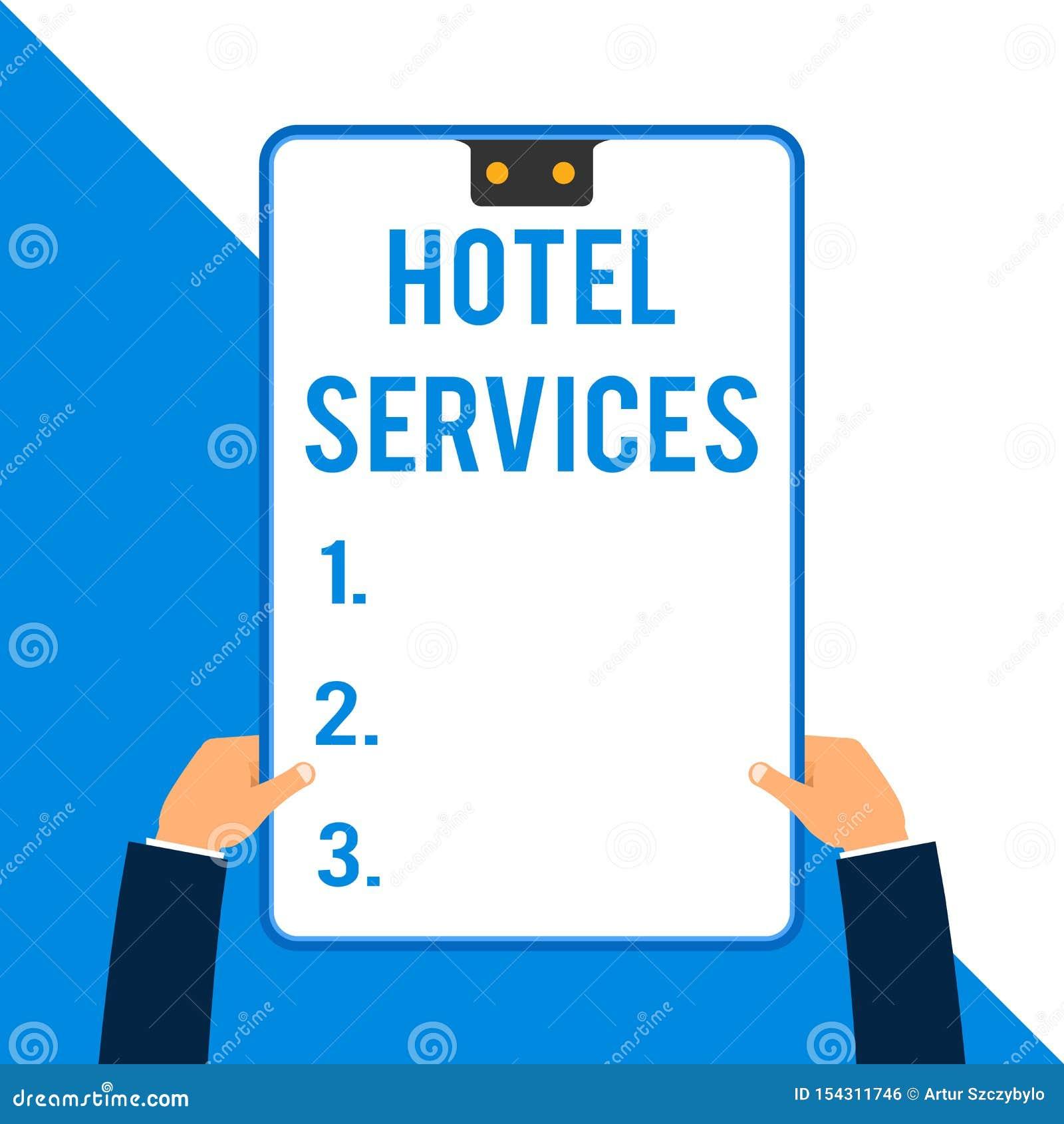 Hotel service essay