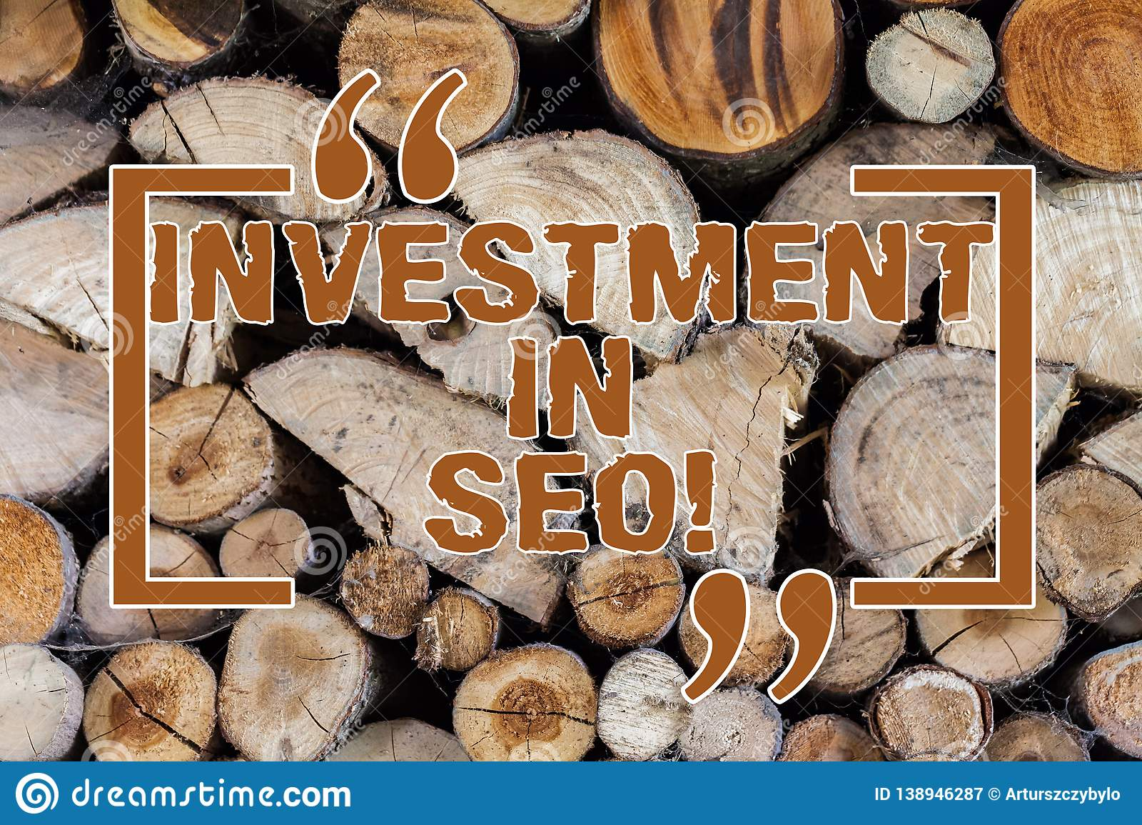 5bd191b22f1f0 Word Writing Text Investment In Seo. Business Concept For Pay Money ...